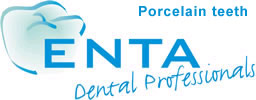 Porcelain and ceramic teeth by ENTA